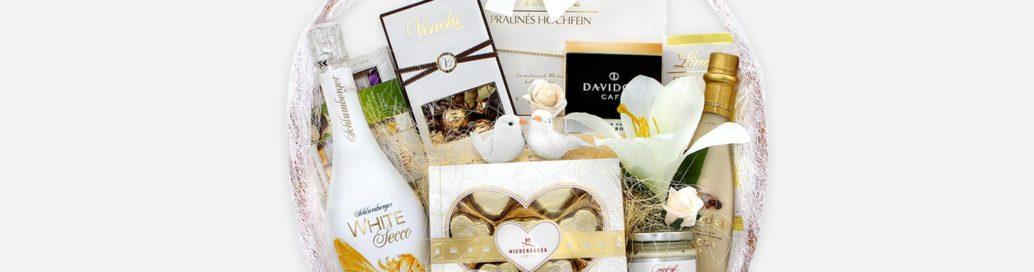 Svatební dárkové koše a balíčky 02