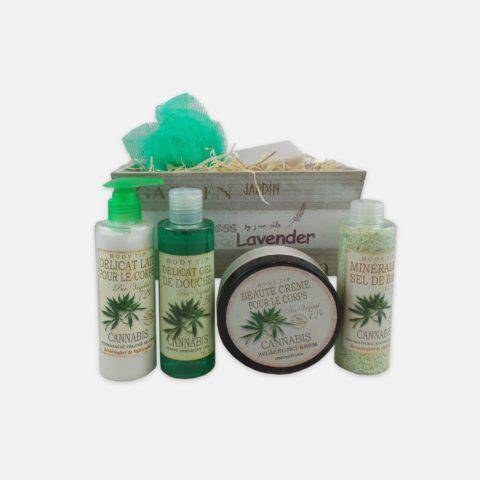 Dárkový drogistický a kosmetický balíček Cannabis 05a